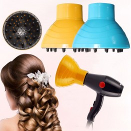 1Pcs Professional Salon Hair Dryer Curl Diffuser Wind Nozzles Blower Cover Barber Hairdressing Hairstyling Tools Accessories