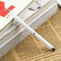 1pcs Fine Point Stylus Capacitive Touch Microfiber Stylus Pen Touch For ipad for iphone White  Newest Hot Selling