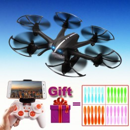 2017 NEW 2.4G 4CH 6-Axis MJX X800 RC Drone Quadcopter Helicopter with C4015 HD FPV WIFI Real Time camera VS X400 x5c x5sw X5sc