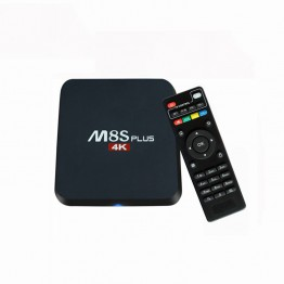 2017 New Android TV Box  M8s +  M8S PLUS S905 Android 5.1 Quad Core 1000M KD 16.0 Media Player BT4.0 m8 z4 rk8 kiii Set Top Box