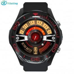 2017 New S11 Smart Watch 1.3inch Round Screen Android 5.1 2.0mp camera MTK6572 4GB GPS WIFI Bluetooth Smartwatch For IOS Android