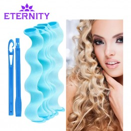 25/30/45 2017 Newly Arrive High Quality Beauty Watermark Shaped Manually Curlers Not To Hurt The Hair Curlers Makeup Hair Curler