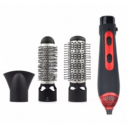 3-in-1 Multifunctional Styling Tools Hairdryer Hair Curling Straightening Comb Brush Hair Dryer Professinal Salon 220V 1200W