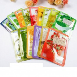3PCS Collagen Essence Facial Mask Sheet 3D Moisture Face Mask Pack Skin Care