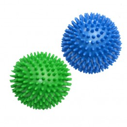 6cm 9cm Spiky Massage Ball Hand Foot Body Pain Stress Massager Relief Trigger Point Health Care Sport Toy Random Color