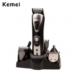7 in 1 Hair Clipper  Electric Rechargeable Hair Nose Ear Trimmer Men Beard Sideburns Razor Shaver Hair Removal Comb S3235