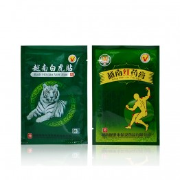 8Pcs White Tiger+8Pcs Red Tiger Pain Patch Muscle  Massage Relaxation Herbs Medical Health Care Plaster Joint Pain Killer D0001