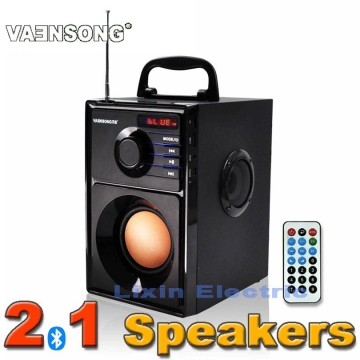 A10 Stereo Subwoofer Bluetooth Speaker HiFi Portable Speakers USB TF Card Mp3 Play 10W Super Bass  Loudspeaker FM Radio Column