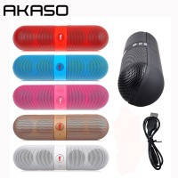 AKASO Y1 Mini Bluetooth Speaker Outdoor Portable Wireless Speaker Sound System 3D Stereo Music Surround Support TF AUX USB