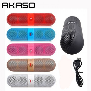 AKASO Y1 Mini Bluetooth Speaker Outdoor Portable Wireless Speaker Sound System 3D Stereo Music Surround Support TF AUX USB32779019512