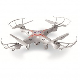 Abbyfrank RC Drone Helicopter X5C 0.3M Camera 360-Eversion 2.4G Remote Control 4 CH 6 Axis Quadcopter Led Light Flying Plane