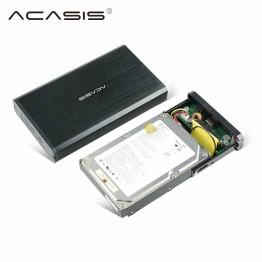 Acasis ba-06usi high quality aluminum alloy 3.5-inch usb 2.0 IDE SATA hard disk box external HDD shell 4TB hard disk box black