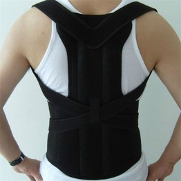 Adjustable Male Belt Men Posture Corrector Therapy Posture Orthopedic Shoulder Pain Lumbar Corset Back Brace Belt Straps