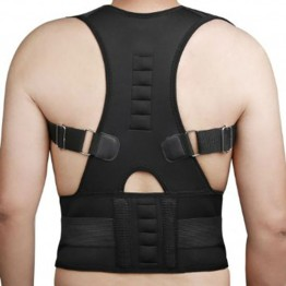 Back Support Posture Correction Men Women Magnetic Posture Corset Back Brace Orthopedic Vest for Back Braces AFT-B002