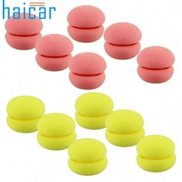 Best Deal 6pcs/lot Magic Beauty Soft Sponge Hair Care Foam Balls Hair Curler Free Shipping 1set