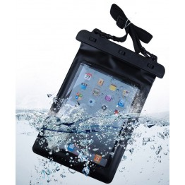 Black 100% Waterproof Pouch Dry Bag Sleeve Case Carrying Bag For 9.7Inch iPad Air2 Ipad2/3/4 Tablet Electronic Gadget Accessory