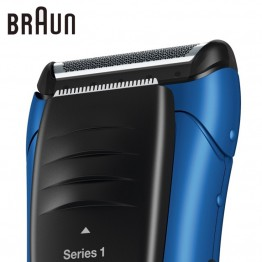 Braun Electric Shaver 190 Blue Reciprocating Blades Rechargeable High Quality Safety Razors For Men