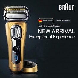 Braun Electric Shaver 9299S For Men Rechargeable Safety Razor Series 9 Reciprocating Shaving Machine Four Heads Straight Razor