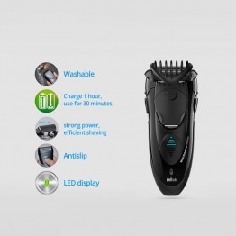 Braun Electric Shaver MG5050 Shaving Machine Electric Razor for Men Washable Universal voltage