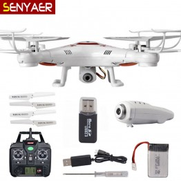 Cheapest With HD Camera Drone BAYANG X5C Upgraded version X5C-1 RC Helicopter Toys 2.4G 4CH 6-Axis Quadcopter BayangToys
