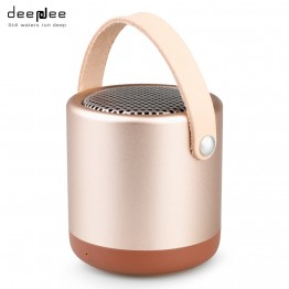 DEEPDEE Mini Bluetooth Speaker Outdoor Portable Wireless Hand Free 3D HIFI stereo Sound Music Loudspeaker AUX With Microphone