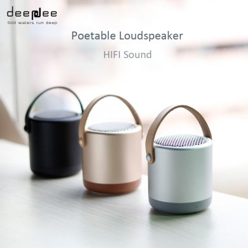 DEEPDEE Mini Bluetooth Speaker Outdoor Portable Wireless Hand Free 3D HIFI stereo Sound Music Loudspeaker AUX With Microphone32821807290