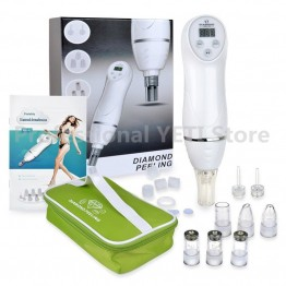 Diamond Micro Dermabrasion Skin Peeling Beauty Machine Vacuum Removal Blackhead Acne Remove Face Cleaning Facial Care Equipment