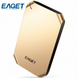 EAGET G60/G20 1TB External Hard Drive 500GB HDD Stainless Steel Body Encryption USB3.0 High-Speed PC HDD Hard Disk Hot Sell