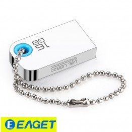 EAGET U9L Pen Drive Mini USB Flash Drive Custom Gift USB 2.0 Flash Memory Stick 32GB 16GB 8GB Thumb pendrive for PC USB Gadget