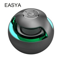 EASYA Bluetooth Speaker Mini Speakers Wireless Super Bass With Mic Colorful light HiFi Stereo For Phone Wholesale Dropshipping