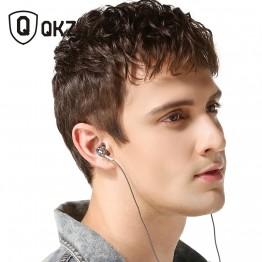 Earphone QKZ DM9 Zinc Alloy HiFi Earphone In Ear Earphones fone de ouvido Headset auriculares audifonos Stereo BASS Metal DJ