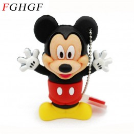 FGHGF Mouse Mickey and Minnie USB Flash Drive pen drive Animal cartoon pendrive 4GB/8GB/16GB/32GB memory stick u disk