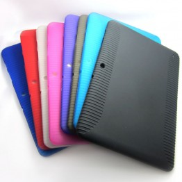 For Samsung Galaxy TAB 2 10.1 P5100/P5110 Soft TPU Silicon Gel Cover Case shell skin for samsung galaxy tab 2 Tablet Accessories