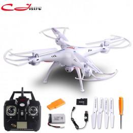 Free shipping 100% authentic new Syma X5SC RC Drone 2.4 G 6 Axis GYRO RC Quadcopter RTF RC com HD 2MP camera Syma X5C atualizado