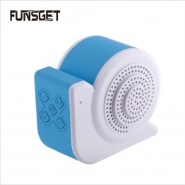 Funsget  Mini Stereo Bluetooth Snail Speaker Portable Wireless Speaker Music Audio Support TF card for Mobile Phone Computer