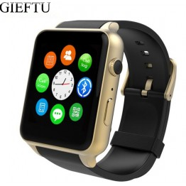 GIEFTU GT88 GSM SIM Card Bluetooth Sports Smart Watch with Camera Heart Rate Monitor NFC Smartwatch for Android and IOS