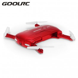 GOOLRC T37 Wifi FPV HD Camera G-sensor Altitude Hold Foldable Mini Selfie RC Drone Quadcopter VS H37 Drones