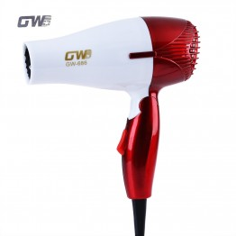 GUOWEI Mini Hair Dryer Foldable Portable Traveller Compact Blower Personal Care Appliances Electric Diffusers GW-686
