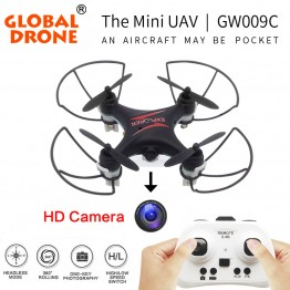 Global Drone GW009C the most  world's popular RC Mini Drone Quadcopter Dron RC Helicopter Drones Quadrocopter with Camera Hd
