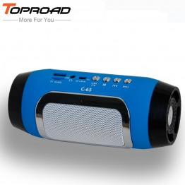HIFI portable wireless bluetooth Speaker Stereo Soundbar TF FM radio music subwoofer column speakers for computer phones player