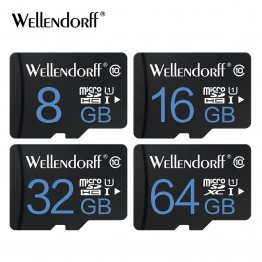 High speed Memory Cards Micro SD Card 4GB 8GB 16GB 32GB 64GB class 10 microsd TF card Pen drive Flash + Adapter