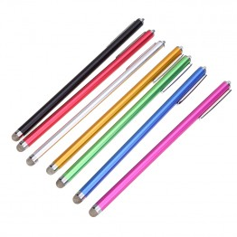 Hot Micro-Fiber 1pcs 185mm Fine Point Stylus Capacitive Touch Microfiber Stylus Pen Touch For ipad for iphone