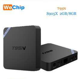 Hot Sale T95N Mini M8S Pro Android 6.0 Smart TV Box S905X Quad Core Wifi RAM 2GB ROM 8GB Set top Box PK H96 Pro V88 Media Player
