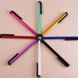 Hot Sale Univers Capacitive Stylus Tablets Pen Colorful Touch Screen Pen for Iphone 6 7 Ipad2 Samsung S5 S6 Not3 LG