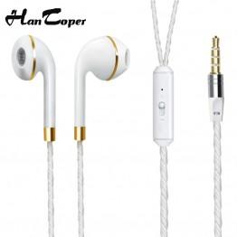 In-Ear Earphone For iPhone 6s 6 5 Xiaomi Hands free Headset Bass Earbuds Stereo Headphone For Apple Earpod Samsung earpiece