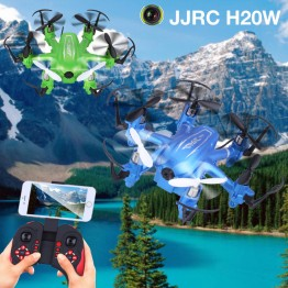 JJRC H20W RC Quadcopters Drone Wifi FPV  With Camera HD RC Mini Drones 6 Axis Rc Dron Helicopter Remote Control Toys Nano Copter