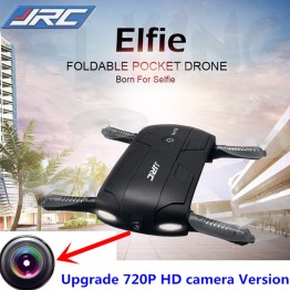 JJRC H37 Elfie Pocket foldable RC Selfie Drone With 720P HD Camera Altitude Hold FPV Quadcopter Helicopter WiFi Phone Mini Drone