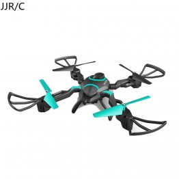JJR/C QZ S8 Wifi FPV 720P HD Camera Foldable RC Quadcopter Drone w / One Key Return & Altitude Hold Function and Colorful Light