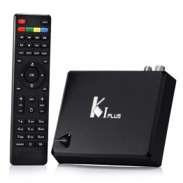 KI Plus Smart Android 5.1.1 TV Box Amlogic S905 Quad Core 1G/8G 2.4G WIFI KODI DVB-T2 DVB-S2 Ccamd Newcamd K1 Plus Set Top Box