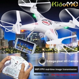 KidoME Drone With Camera HD RC Helicopter D97 2.0 PM WIFI FPV Drones 6-Axis Gyro 4Channel Dron Hexacopter Quadcopter With Camera